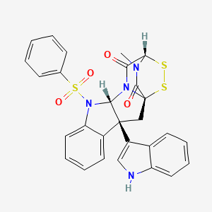 Chemical structure for MLS004682184
