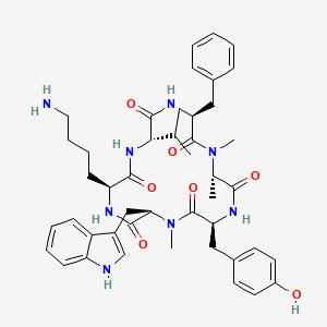 Chemical structure for CHEMBL2011462