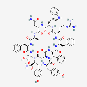 Chemical structure for CHEMBL2096714