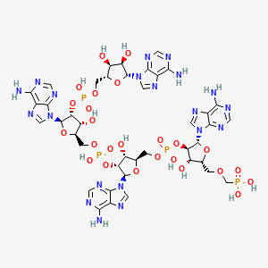 Chemical structure for CHEMBL2057902
