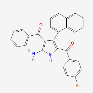 Chemical structure for MLS004712377