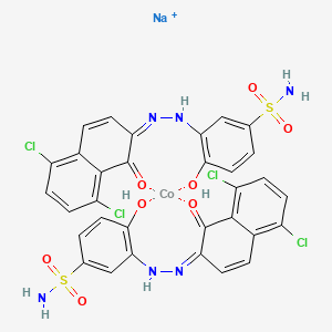 Chemical structure for EINECS 304-563-6