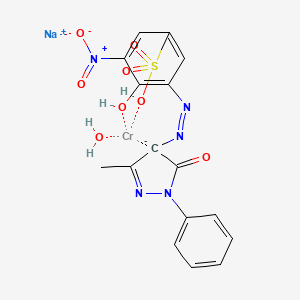 Chemical structure for EINECS 304-937-9