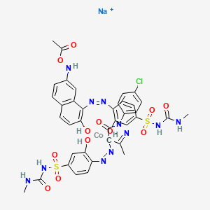 Chemical structure for EINECS 305-527-2