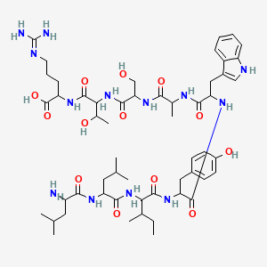 Chemical structure for AGN-PC-0JF49F
