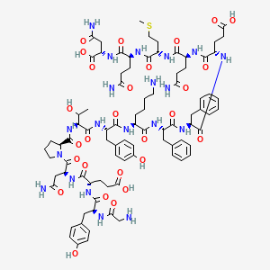 Chemical structure for Amyloid Precursor C-Terminal Peptide