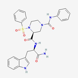 Chemical structure for ZINC04277954