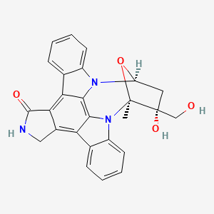 Chemical structure for SP924