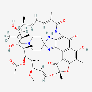 Chemical structure for Ansatipine-d6