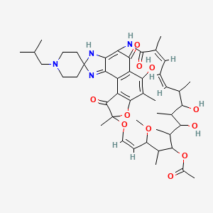 Chemical structure for FT-0630813