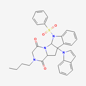 Chemical structure for AGN-PC-0DALHW