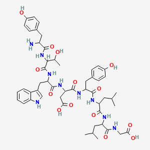 Chemical structure for AGN-PC-005AY9