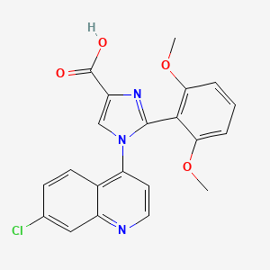 Chemical structure for CID 72946462