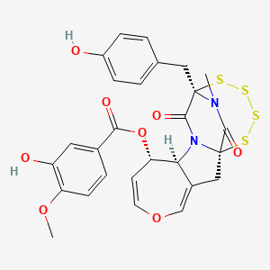Chemical structure for CHEMBL3092735