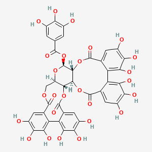 Chemical structure for casuarictin