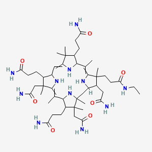 Chemical structure for AGN-PC-0696DS