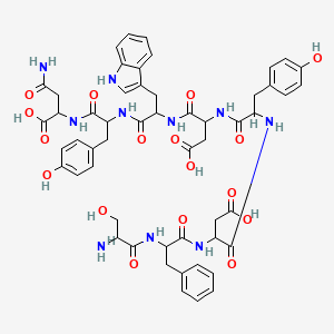 Chemical structure for AGN-PC-07YHJD