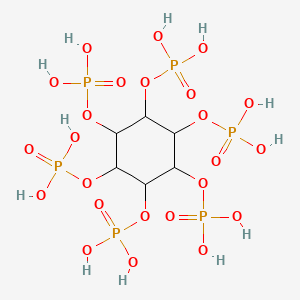 Chemical structure for Phytic Acid