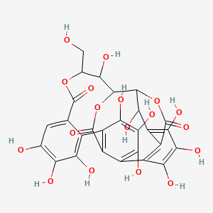 Chemical structure for Castalin