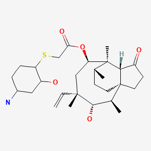 Chemical structure for UNII-61H04Z5F9K