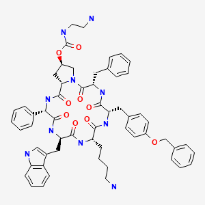 Chemical structure for Pasireotide