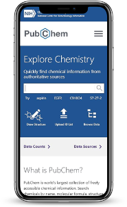 New PubChem Homepage