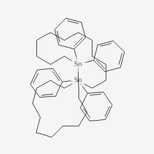 1,14-Distannacyclohexacosane, 1,1,14,14-tetraphenyl-