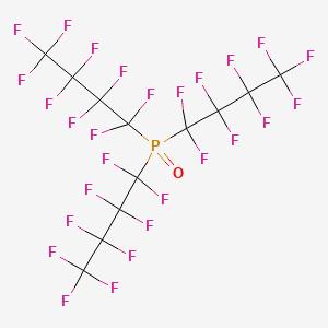 Phosphine oxide, tris(1,1,2,2,3,3,4,4,4-nonafluorobutyl)-