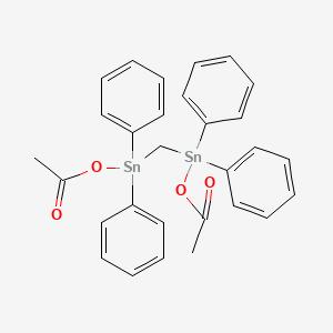 2,8-Dioxo-4,4,6,6-tetraphenyl-3,7-dioxa-4,6-distannanonane