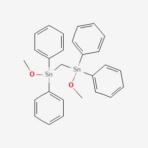 3,3,5,5-Tetraphenyl-2,6-dioxa-3,5-distannaheptane