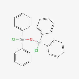 Distannoxane, 1,3-dichloro-1,1,3,3-tetraphenyl-