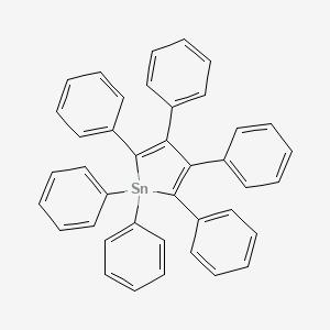 1,1,2,3,4,5-Hexaphenyl-1H-stannole #