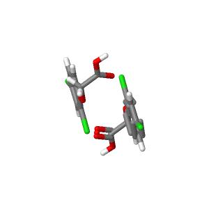 2,4-Dichlorophenoxyacetic acid | C8H6Cl2O3 - PubChem