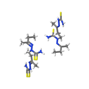 Methyl ethyl ketone thiosemicarbazone | C5H11N3S - PubChem